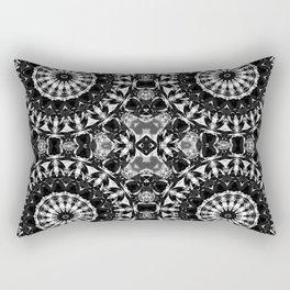 bw mandalas Rectangular Pillow