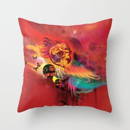 Uncaged Throw Pillow