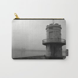 misty harbour lighthouse Carry-All Pouch