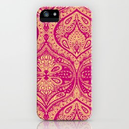Simple Ogee Pink iPhone Case