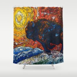 Wild the Storm Shower Curtain
