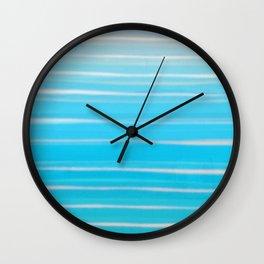 Seashore Colors Wall Clock