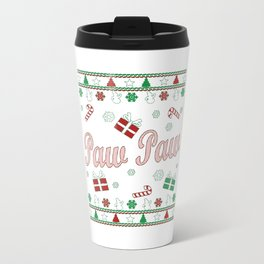 Paw Paw Christmas Travel Mug