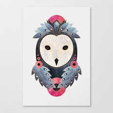 Owl 1 - Light Canvas Print
