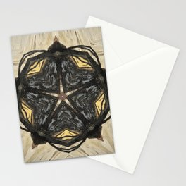 Magic // Witch Witchcraft Star Pentagram Pentacle Wicca Sacred Symbol Protection Energy Magical Stationery Cards