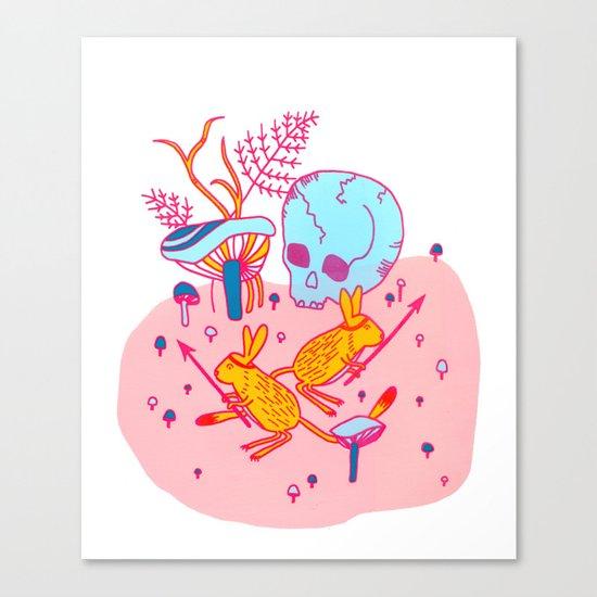 Headhunters Canvas Print