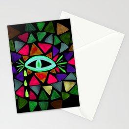 Crystaleyes 6 Stationery Cards