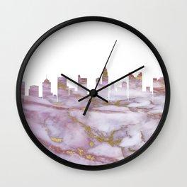 Columbus Skyline Ohio Wall Clock