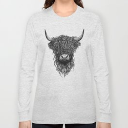 Highland Cow Long Sleeve T-shirt