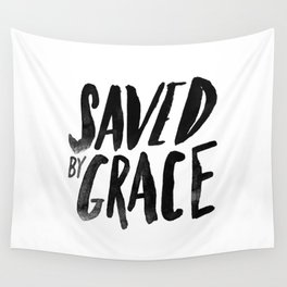 Saved by Grace Wall Tapestry