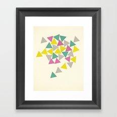 Order Within Chaos Framed Art Print