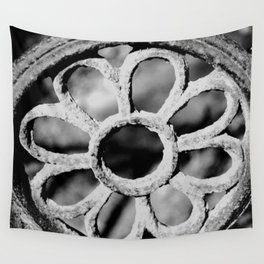 Metal Flower Wall Tapestry