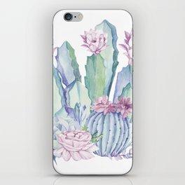 Desert Love Cactus + Succulents iPhone Skin