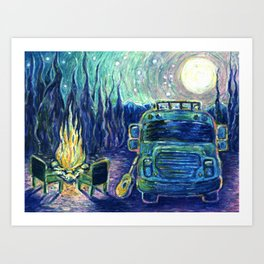 Van Life Dream Art Print