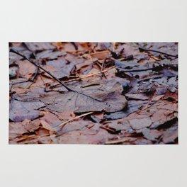 Winter Leaves2 Rug