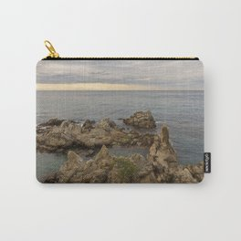 Rocks in the sea of Lloret de Mar Carry-All Pouch