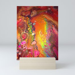 Neon Cell Dream Mini Art Print