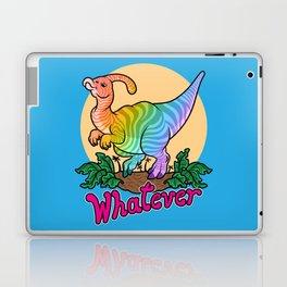 Moody Dinosaur (rainbow) Laptop & iPad Skin