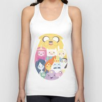 adventure Tank Tops featuring Adventure by Eva Puyal