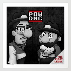POW DMC Art Print