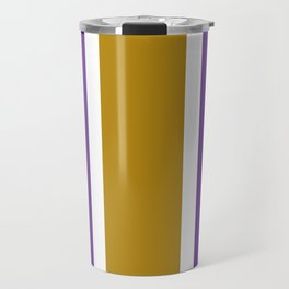 TEAM COLORS 10...GOLD,PURPLE Travel Mug