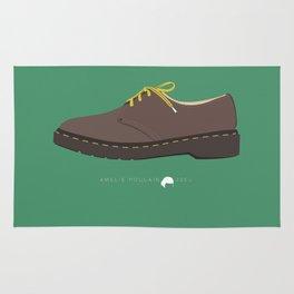 Amelie Poulain famous shoes Rug
