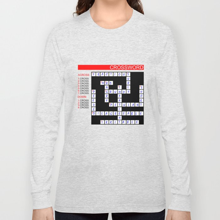 Crossword Long Sleeve T-shirt