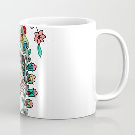HAPPINESS IS POWERFUL LOTUS GIRL Coffee Mug