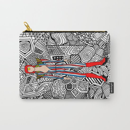 Bowie Fashion 3 Carry-All Pouch