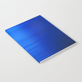 Sunset on the Water-Deep Blue Notebook