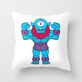Manchild! Throw Pillow