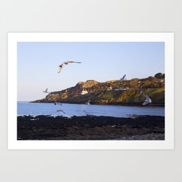 An afternoon in Howth Art Print