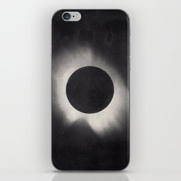 Solar Corona Eclipse of 1919 iPhone Skin