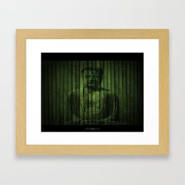 Peaceful Buddha Framed Art Print