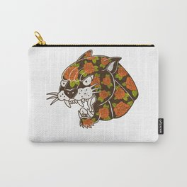 Rose Panther Carry-All Pouch
