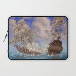 Sea Battle Laptop Sleeve