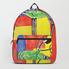 Twin Ballet Dancers Backpack