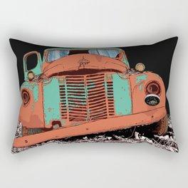 Art print: The old car (speed wagon) Rectangular Pillow