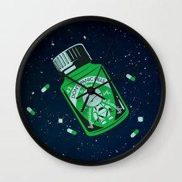 Marvin's Medicine Wall Clock