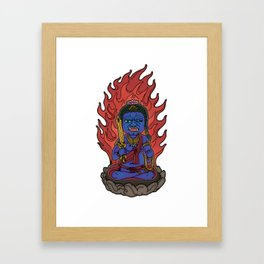 Fudo Myoo is Immovable Framed Art Print