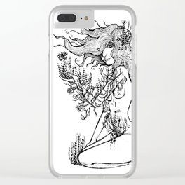 Give Yourself to Your Passions Clear iPhone Case