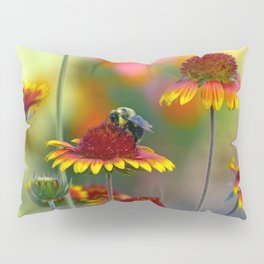 Bee on Gaillardia Pillow Sham