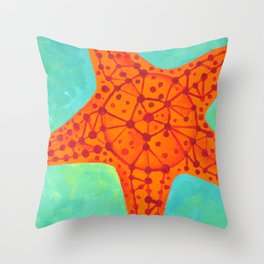 Starfish #3 Throw Pillow