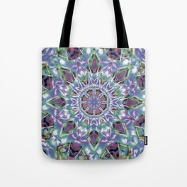 Abstract Flower AA YY QQ Tote Bag