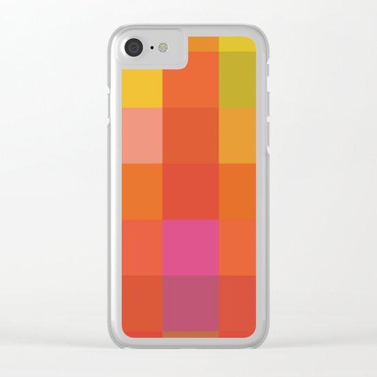 Quadros 01 Clear iPhone Case
