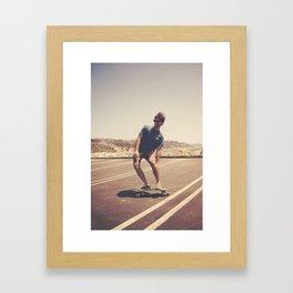 The Artist.  Framed Art Print