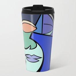 The Face 2 Metal Travel Mug