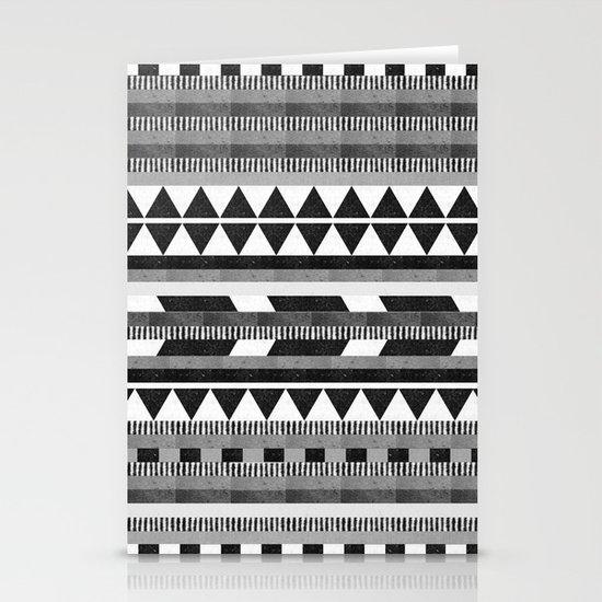 DG Aztec No.1 Monotone Stationery Cards
