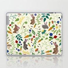 Rabbits In The Garden Laptop & iPad Skin