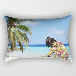 Plumeria Spirit Rectangular Pillow